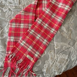 BURBERRY - Classic Check Scarf in Pink